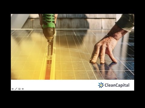 CleanCapital - Solar Investing 101
