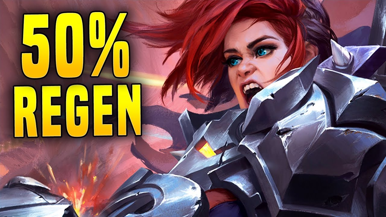 50% Lifesteal Ash Is Silly! | Paladins