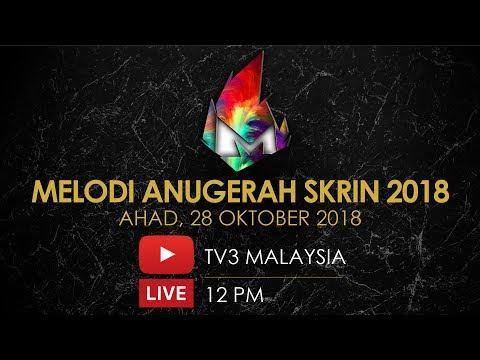 [LIVE]  Melodi Anugerah Skrin 2018 | #Melodi #ASK2018
