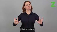 Úvod ve znakovém jazyce
