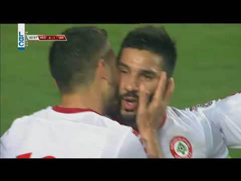 Football -  Lebanon v/ s Hong Kong -  Hassan Maatouk Penalty