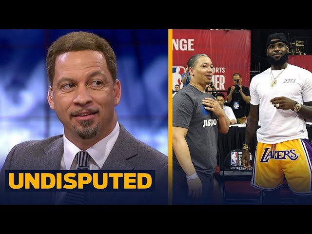 Chris Broussard on LeBron's appearance at Lakers Summer League game in Vegas | NBA | UNDISPUTED