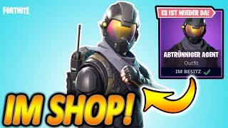 WTF!! HALO SKIN NOW IN THE SHOP FOR 15 EURO... 😱 | ABTRÜNNIGER AGENT | Fortnite Battle Royale