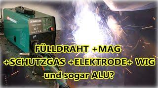 Mit Lidl kann jeder alles schweißen? PARKSIDE Multischweißgerät »PMSG 200 A1« im Test