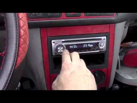 Aftermarket Radio Install in Timmy's 2002 VW Golf GTi