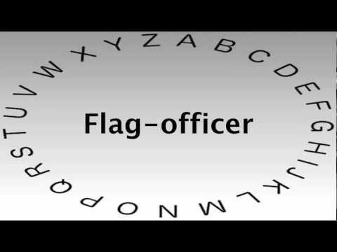 SAT Vocabulary Words and Definitions — Flag officer