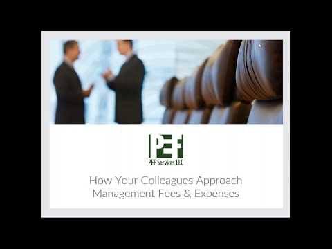Webinar: How Your Colleagues Approach Management Fees & Expenses