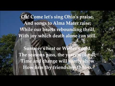 Carmen Ohio (Instrumental with Lyrics) - The Ohio State University