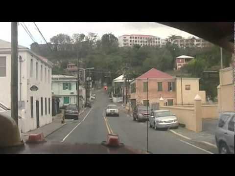 Driving through Saint Thomas US Virgin Islands  YouTube