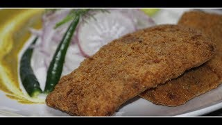 Kolkata's Famous Fish Fry Recipe | Bengali Style Fish Fry | Famous Kolkata Street Food | Fish Cutlet