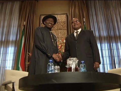 Nigeria and SA becoming fast friends
