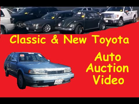 Auto Auction Classic Camry Wagon VW Classics & Bidding Impala SS Video