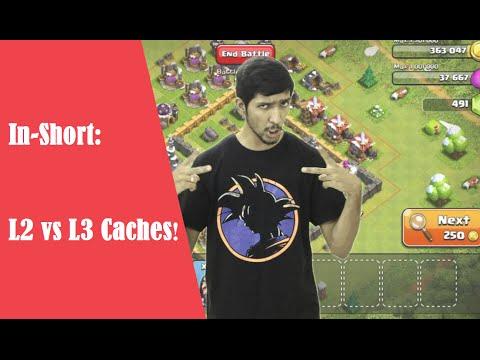 L2 vs L3 Cache memory - In Short