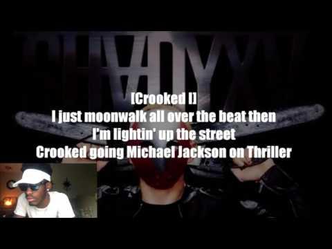 Eminem - Psychopath Killer ft. Slaughterhouse & Yelawolf Lyrics | REACTION