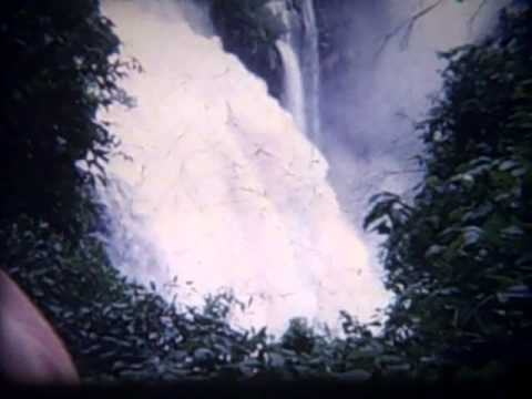 Christine and Peter Hall's trip to Africa 1960's Cine film