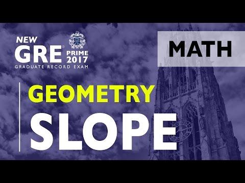 GRE   Geometry - Slope   GRE Test   ArgoPrep   GRE Math