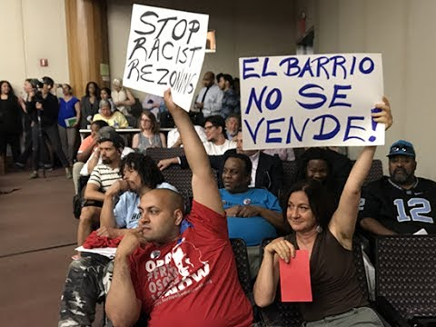 Local Residents Testify Against East Harlem Rezoning Hearing  & Shut Down Community Board Vote
