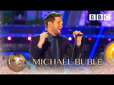 Michael Buble performs 'Such A Night' - BBC Strictly 2018