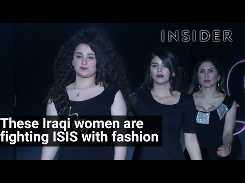 Iraqi women are fighting back ISIS with fashion