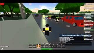 Roblox: Verrückte Teenager Polizei jagen. Washington D.C.