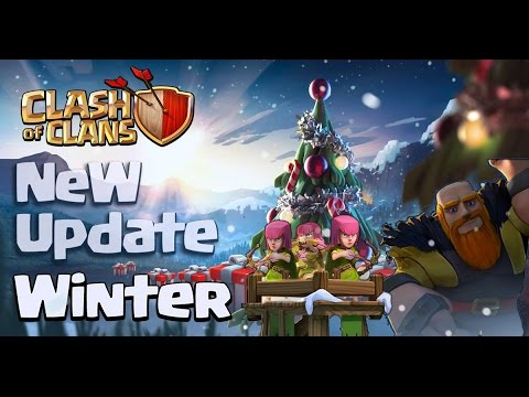 Clash Of Clans - Christmas Update - Level 7 Giant, Level 12 Gold Mine, Level 12 Elixir Collector