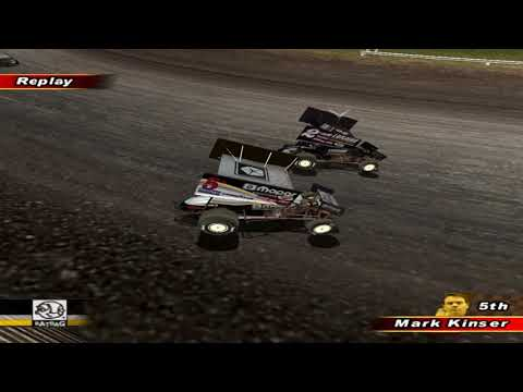 World of Outlaws Sprint Cars 2002 - Knoxville Raceway (20 Laps)