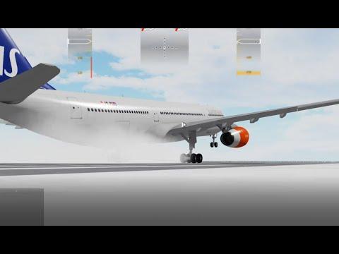 My Best Landing with an SAS A330 | Roblox Flightline