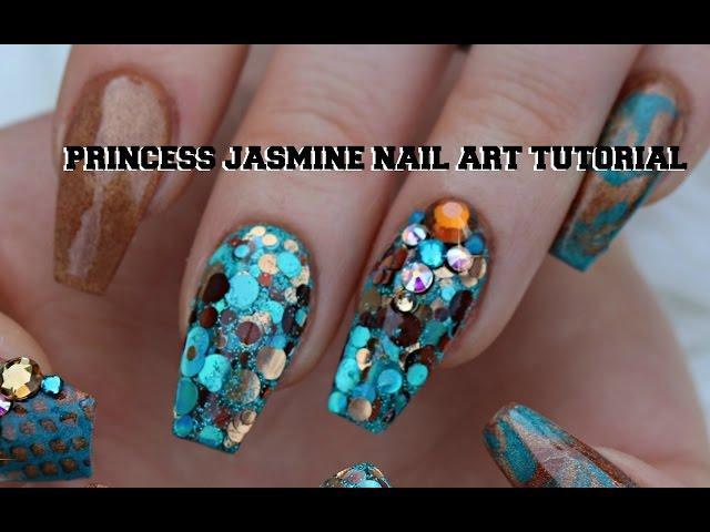 Princess Jasmine Nails Youtubedownload Pro