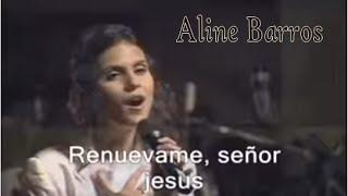 Esta es la mejor VOZ Cristiana del Mundo .. Aline Barros canta Renuevame IMPRESIONANTE!!
