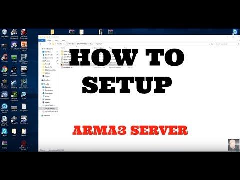 How to setup a arma3 life server