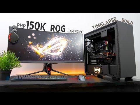 Php150K ASUS ROG Gaming PC  Time Lapse Build ft. Maximus XI Hero & Strix RTX 2080 OC