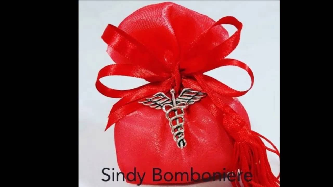 Preferenza Ricordini idee Bomboniere per laurea www.sindybomboniere.it - YouTube NH42