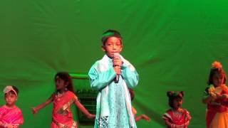 Rajarshi performing Sukumar Ray