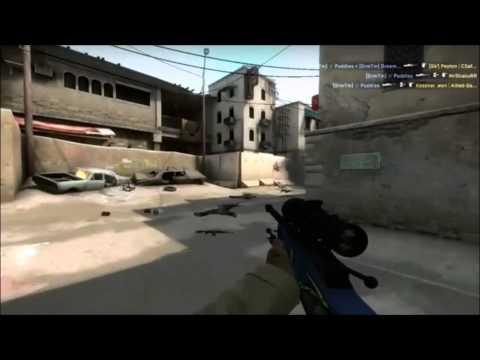CS:GO: Trickshots #3 - 'Puddies' 1 Shot 3 Awp Kills