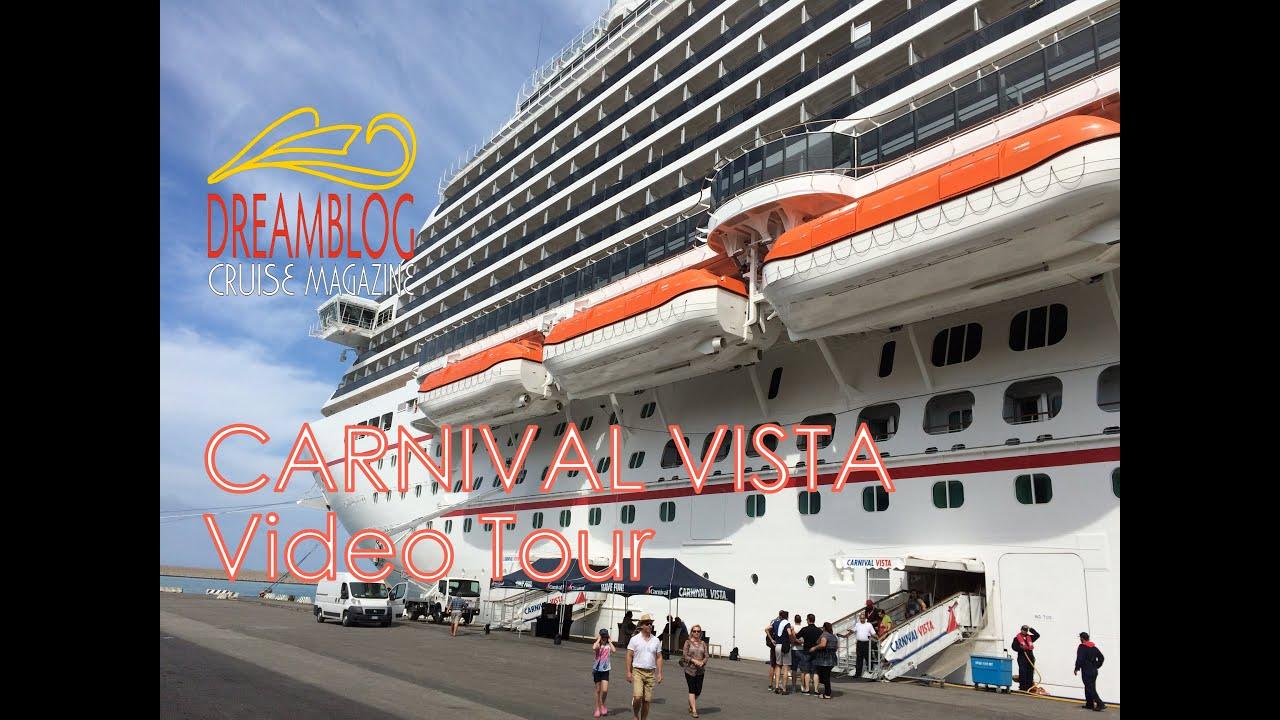 carnival vista video tour