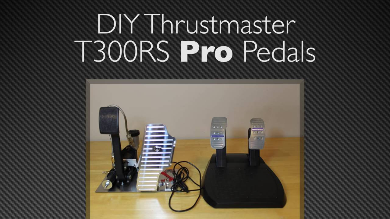 HOW TO turn your T300 pedals into PRO sim racing Pedals! DIY