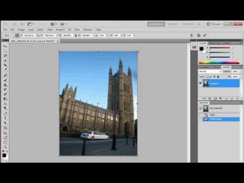 foto uitsnijden photoshop cs5