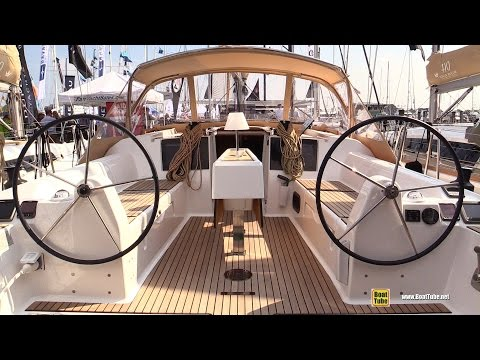2016 Dufour Grand Large 382 Sailing Yacht - Deck, Interior Walkaround - 2015 Annapolis Boat Show