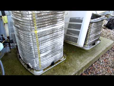 Hvac American Standard Condenser Cleaning