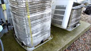 hvac american standard condenser cleaning