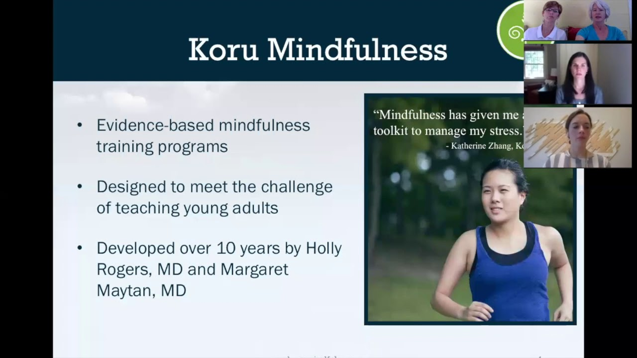 All about koru mindfulness teacher certification youtube all about koru mindfulness teacher certification 1betcityfo Images