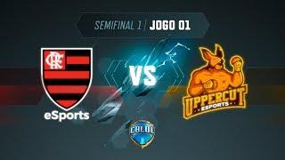 CBLoL 2019: 2ª Etapa - Semifinal 1   Flamengo x Uppercut (Jogo 1)