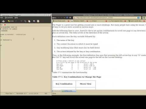 FVWM - Scrolling desktop