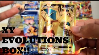 best pokemon xy evolutions booster box dragonite ex full art part 1