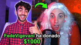 LE DONO $10.000 A STREAMERS PEQUEÑOS Y ASI REACCIONAN!