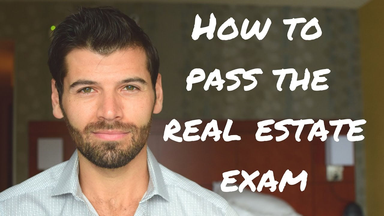 How To Pass The Real Estate Exam Without Reading The Book Youtube