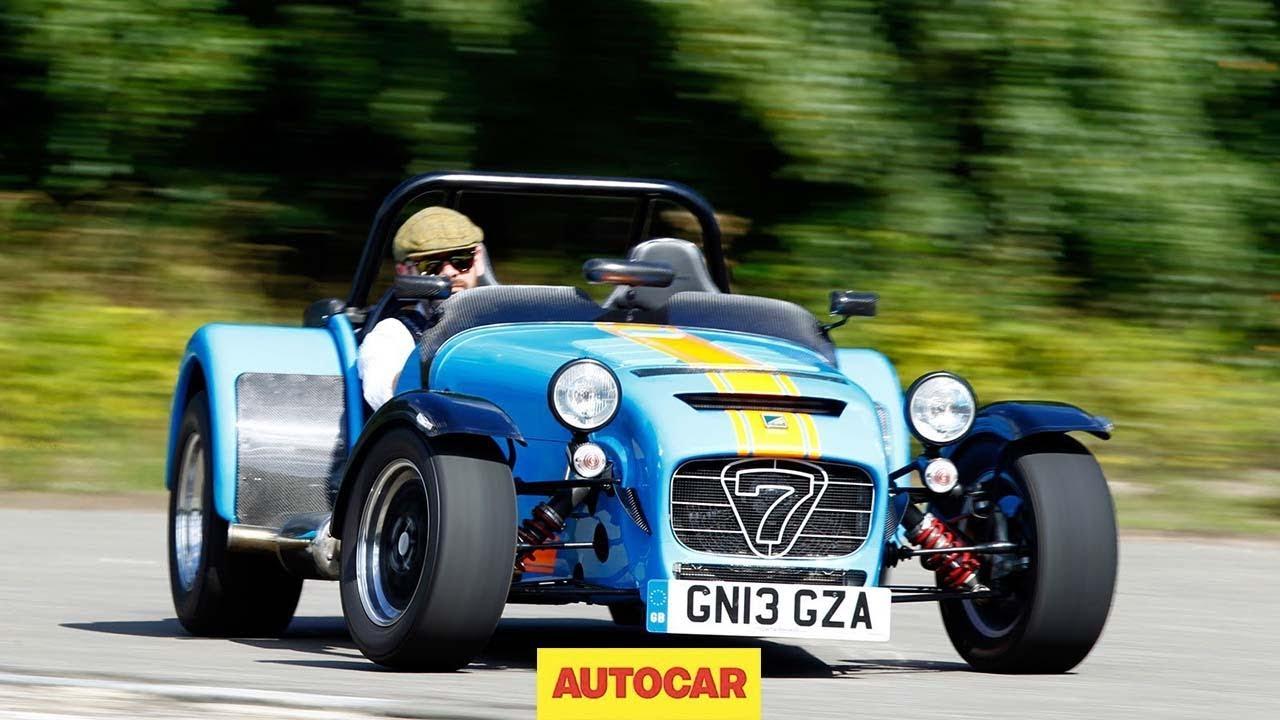 Caterham 620r slays volkswagen golf gti caterham 39 s for Max motor dreams cost