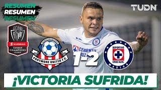 Resumen y Goles | Portmore United 1 - 2 Cruz Azul | Concacaf Champions 2020 | TUDN