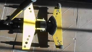 Как ровно гнуть трубы ручным гидравлическим трубогибом(Работа с трубогибом., 2014-09-06T06:34:05.000Z)