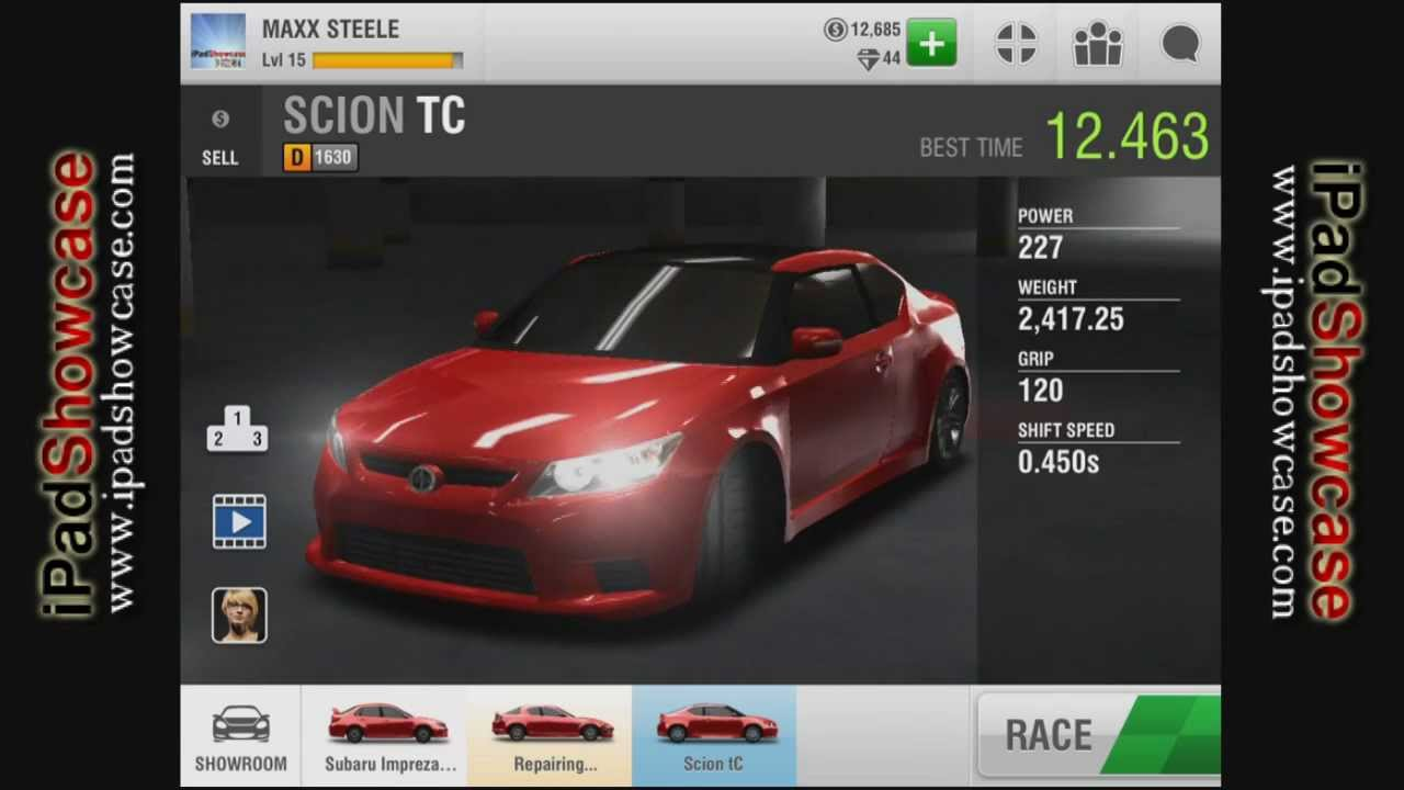 Racing rivals how to get cash in the game to upgrade your car or buy a new car youtube
